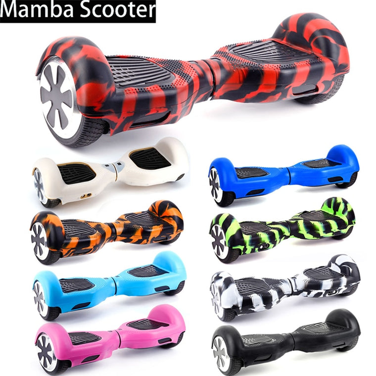 "Hoverboard Silicone Case/Cover 6.5"" 2 Wheels Smart Self-Balancing Electric Scooter 6.5 inch Sleeve/Protector/Shell Anti-Scratch"