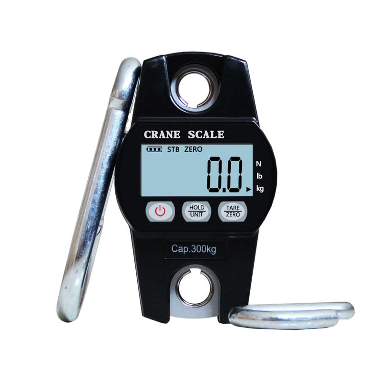 High Quality 300KG  Mini Digital Crane Scale Luggage Fishing Balance Pocket Weight Scale Hook hanging Crane Electronic scales