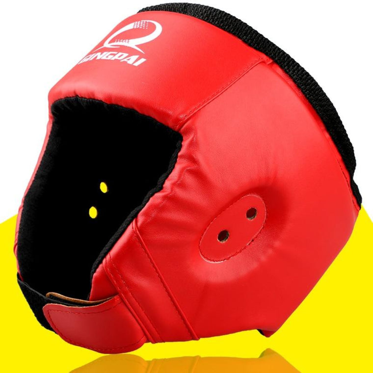 Top Brand MMA Karate Muay Thai Kick Training Helmet Boxing Head Guard Protector Headgear Free Combat Taekwondo Protection Gear