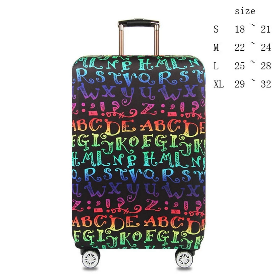 High quality travel suitcase Elastic dust cover Trolley case Luggage protection case for 18 ~ 32 inch suitcase protective cover