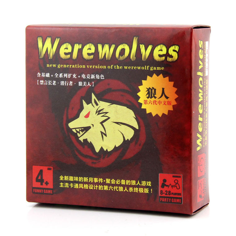 Werewolves with rules Millers Hollow family game board game card game for shipping