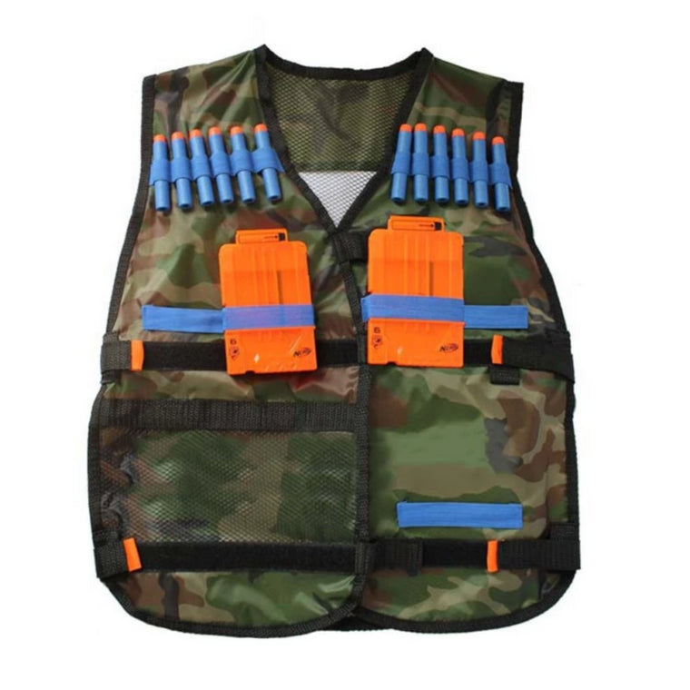 High quality Tactical Vest Adjustable with Storage Pockets fit for  N-Strike Elite Team