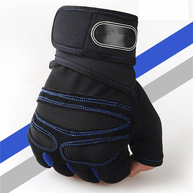 Body Building Training Sports Fitness WeightLifting Gloves For Men Women Gym Crossfit Gloves Drop Shipping