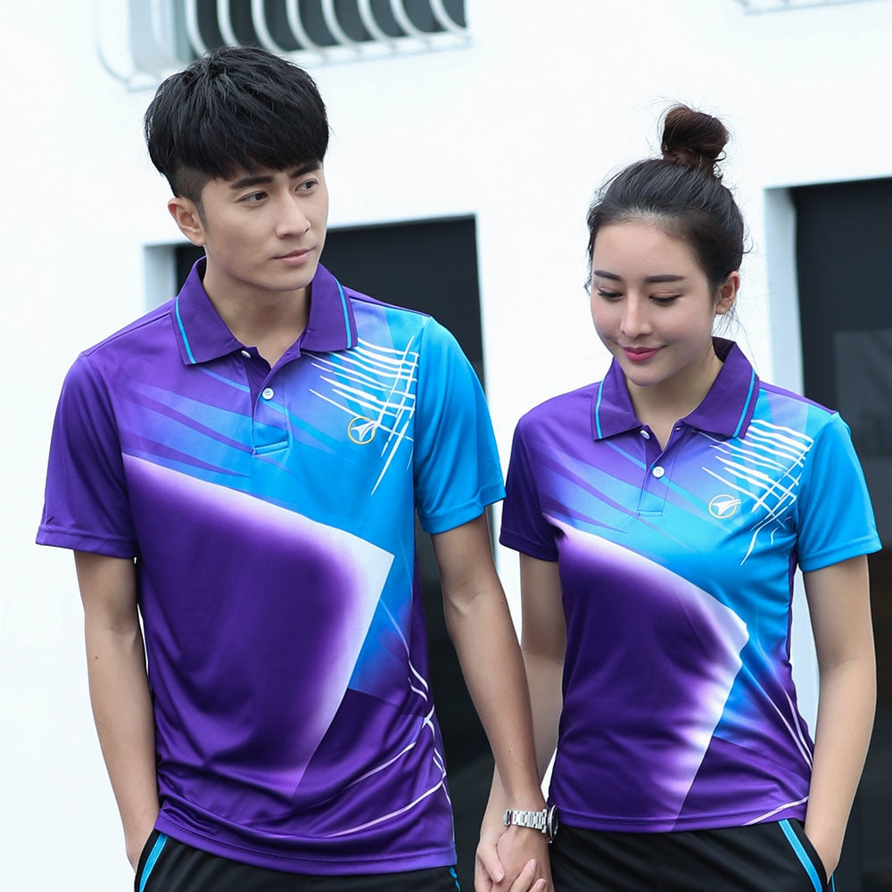 Free Custom Badminton t shirt Men/Women's , sports badminton shirt ,Table Tennis t shirt , Tennis t shirt AY002