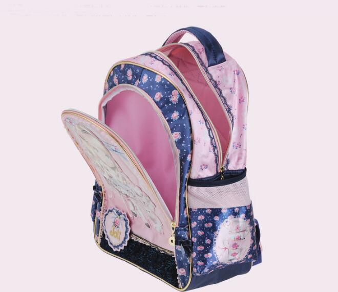 Kids Trolley Bag On wheels for School trolley backpack for girls Children's Rolling Bag for school Travel luggage Trolley Bags
