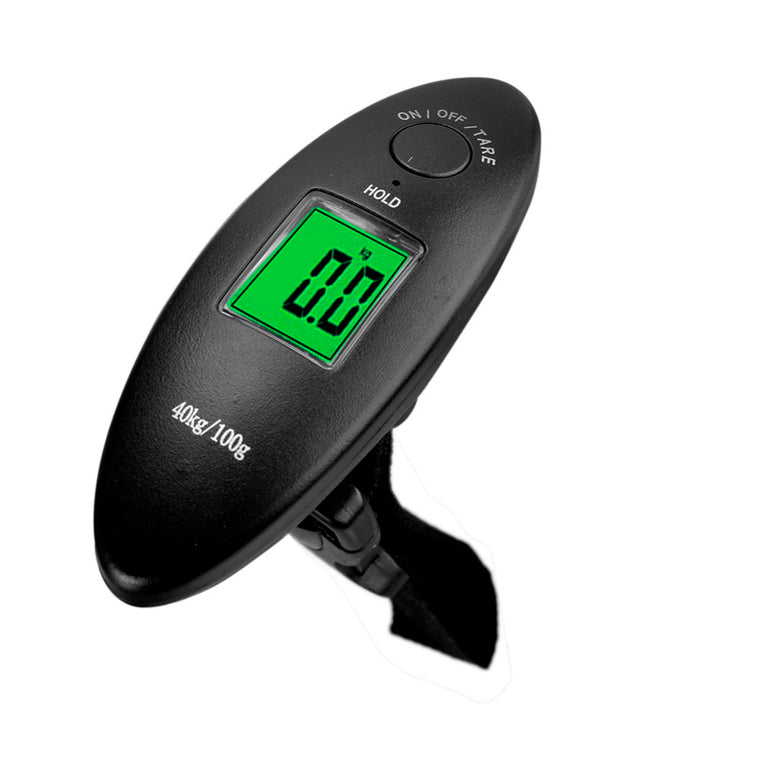 40kg/10g 88Lb Portable Electronic Luggage Scale LCD Display Electronic Travel Scale Hanging Balance Digital Luggage Scale