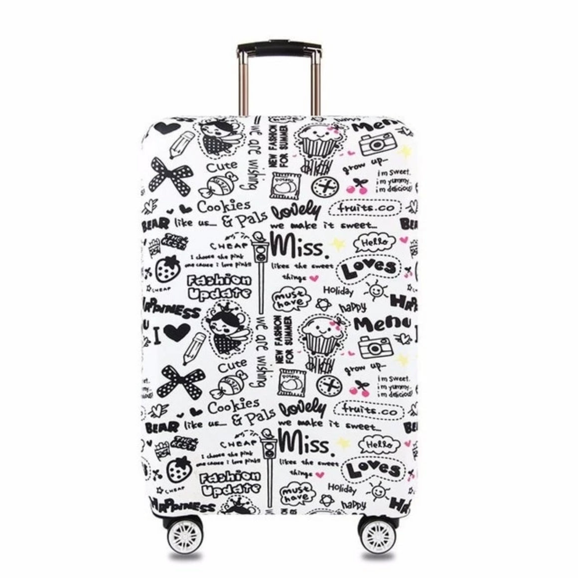 HMUNII Case Cover Thick Elastic Luggage Protective Cover Zipper Suit For 18-30 inch Trunk Case Travel Suitcase Covers Bags A1-14