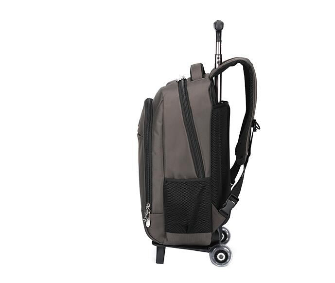 women  travel Backpacks with wheels Men Business Travel Trolley Bags luggage trolley Mochila Oxford Rolling Baggage Backpack bag