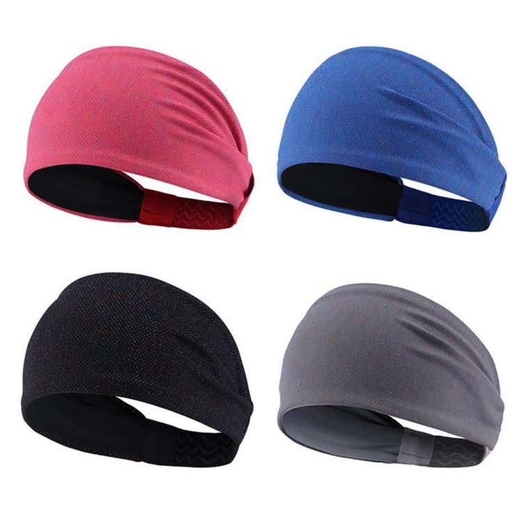 Elastic Sport Headband Wide Warp Hair Band Yoga Running Stretch Bands Men Women Basketball Tennis Sweatband