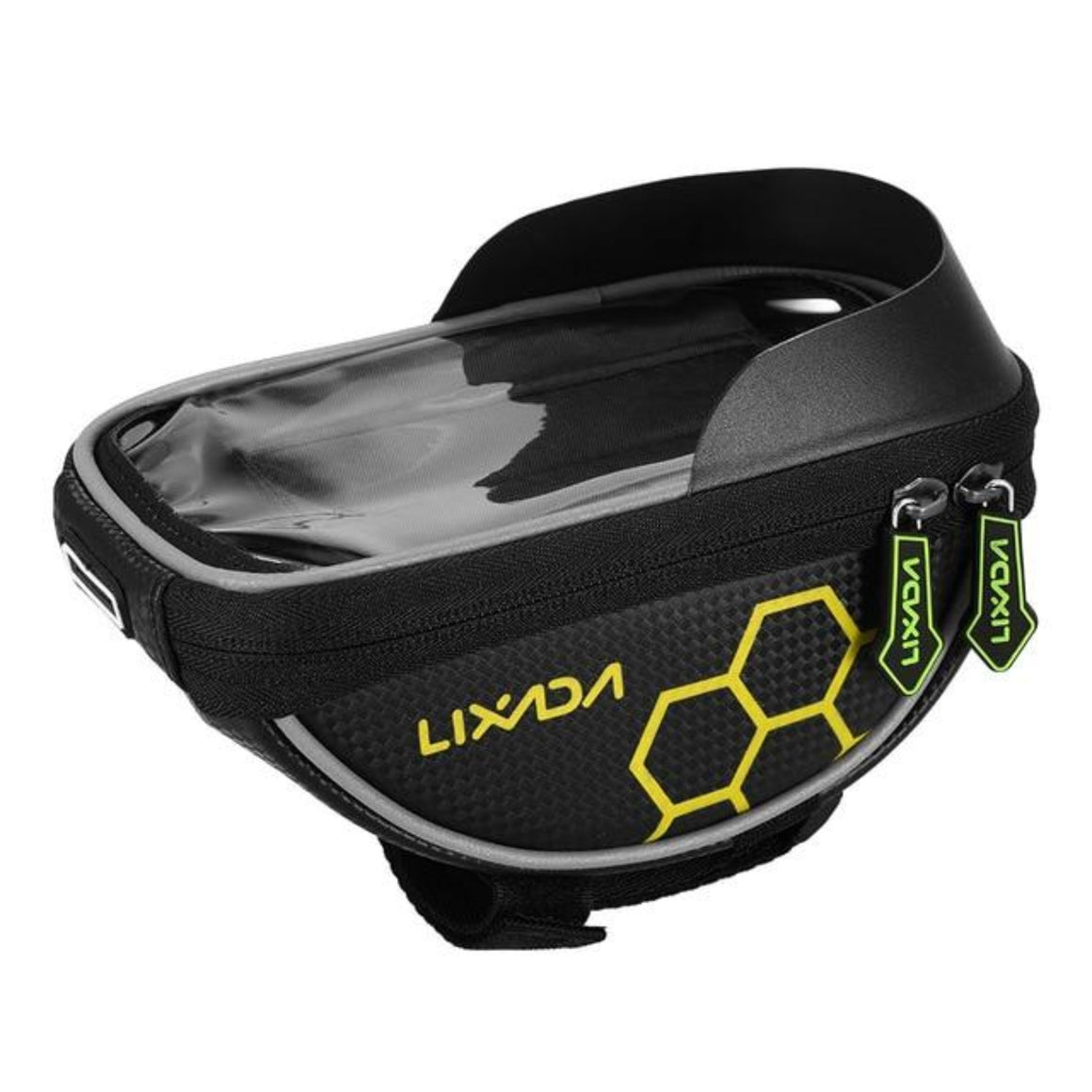 Lixada Bicycle Bag Cycling Bike Frame Phone Bag Pannier Smartphone & GPS Touch Screen Case Bicycle Accessories For 6 Inch Phone