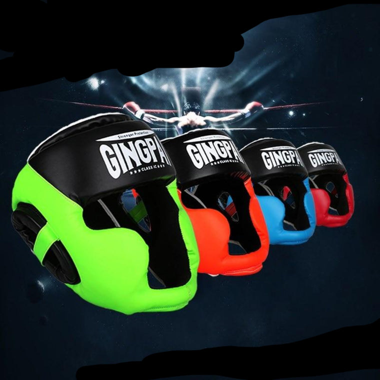 Boxing Head Guard Closed Type/Sparring Helmet/MMA/Muay Thai Kickboxing Brace/Head Protection Free Shipping