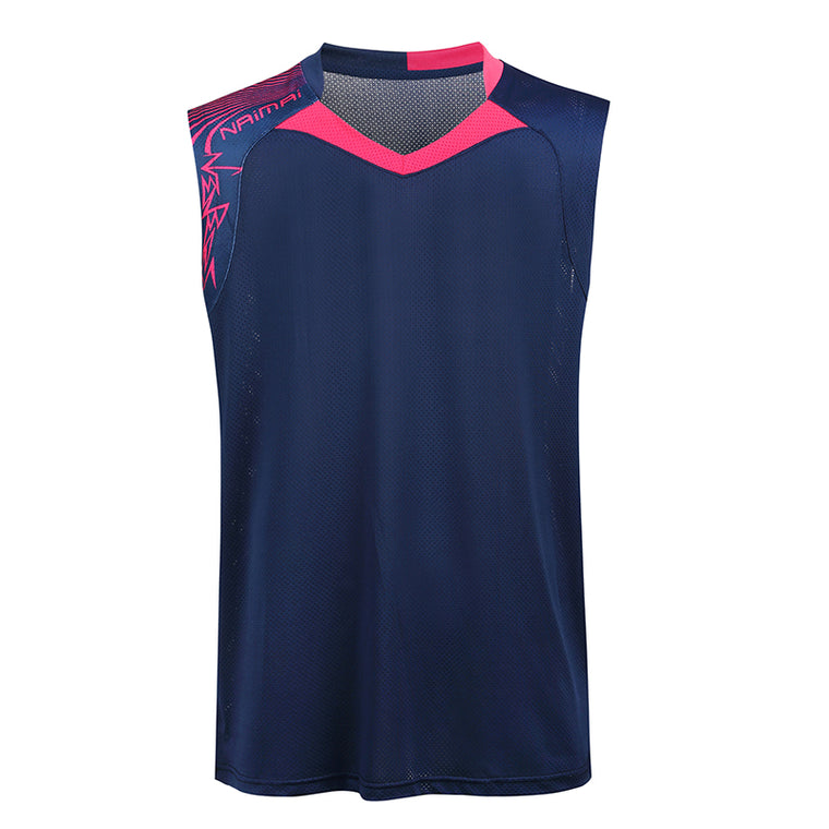 Badminton sleeveless shirt Women/Men's , sports badminton shirt , Table Tennis shirt , sleeveless Tennis wear shirt 5065