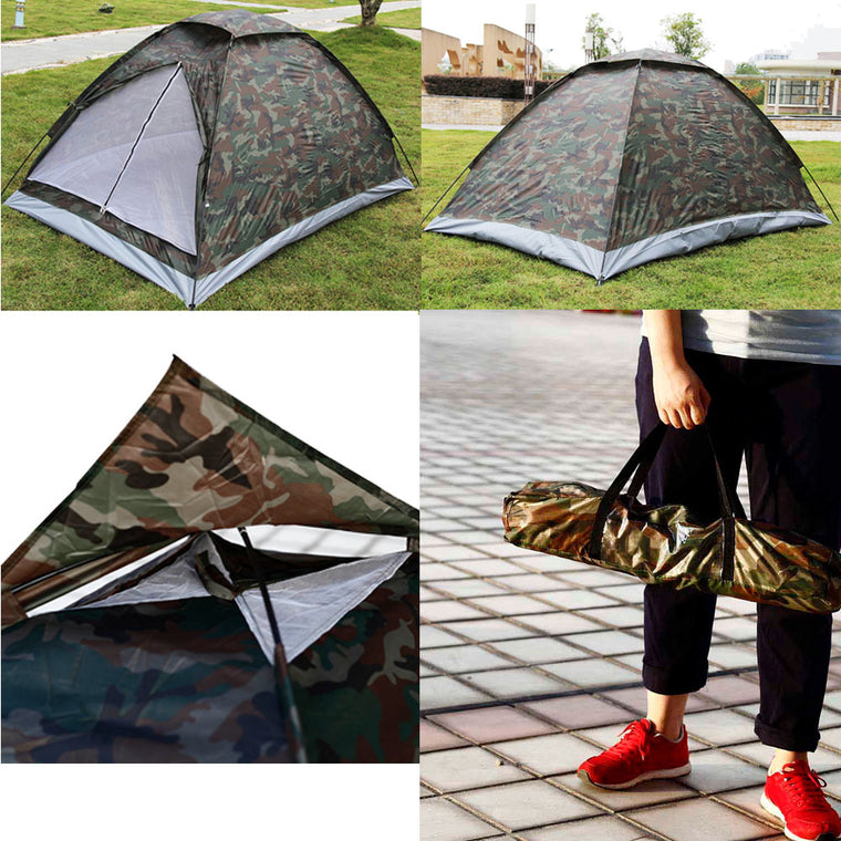 Camouflage Ultralight Camping Tent ice fishing Outdoor Party Beach Tents for winter fishing inflatable Tents Travel Single Layer