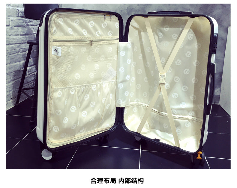 Brand 20 inch 24 inch rolling luggage Case Spinner Case Trolley Suitcase Women Travel Luggage Suitcase Boarding wheeled Case