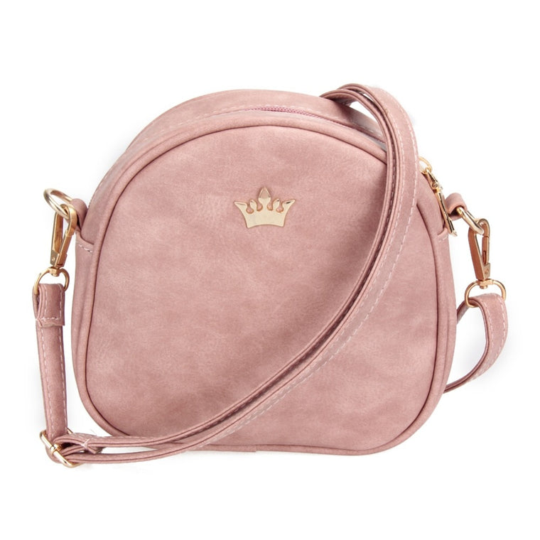 Casual Women Small Bag imperial Crown Women Messenger Bags PU Leather Handbags Phone Purse Fashion Designer Ladies Crossbody Bag