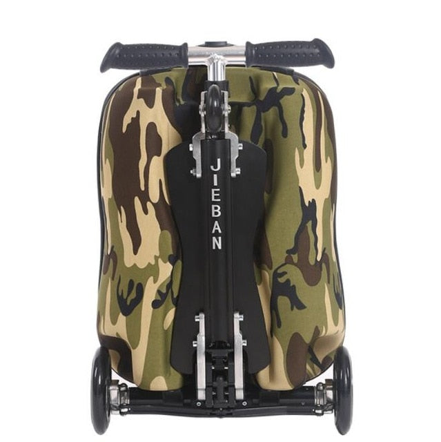 TRAVEL TALE teenager scooter travel suitcase eva scooter luggage trolley backpack on wheels