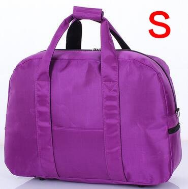 Large Capacity  Travel Bag Women Portable 3 SIZE Weekend Women's Tote Bag 30%OFF T310