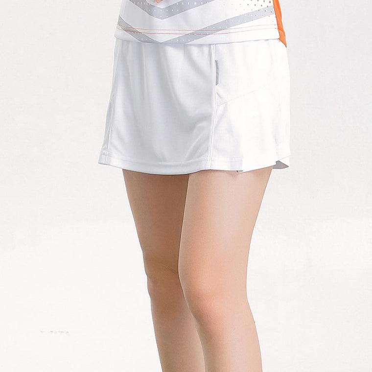 Quick dry Badminton skirts Women , sports Tennis skirts ladies , shorts in skirt sports women running skirts