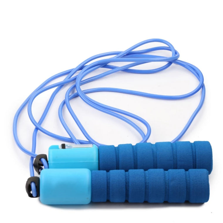 ITSTYLE Foam Handle Sport Jump Ropes Bodybuilding Fitness Skipping Rope Training Calorie with Number Counter