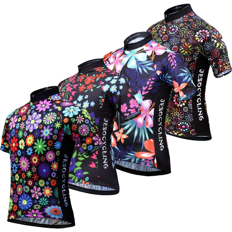 Classical Team Cycling Jersey Breathable Outdoor Sports Cycling Shirts MTB Cycling Clothing Maillot Ciclismo Multi Colors
