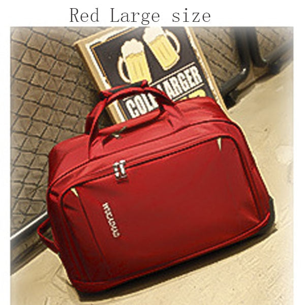 New Waterproof Hand Luggage travel Bag Thick Style Rolling Suitcase Trolley Luggage Women&Men Travel Bags Suitcase With Wheels