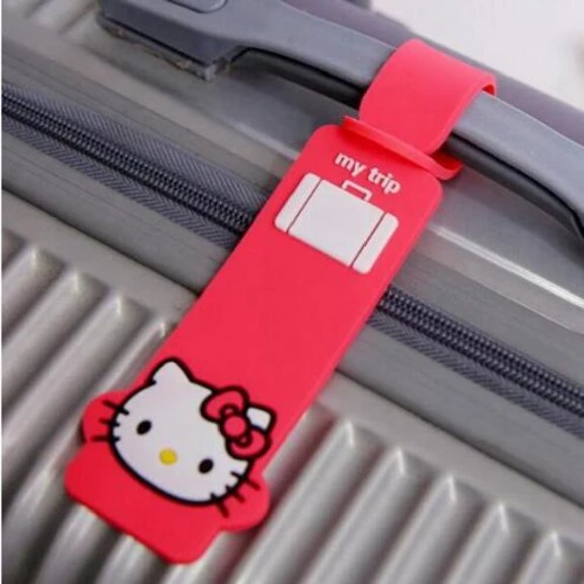 Animal Silica gel Hello Kitty Luggage Tag  Women Travel Accessories Suitcase ID Addres Holder Baggage Boarding Portable Label