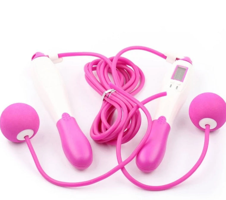 Jump Rope Wired and Wireless with ball Bodybuilding Fitness Digital Calories Counter Skipping Rope Without battery
