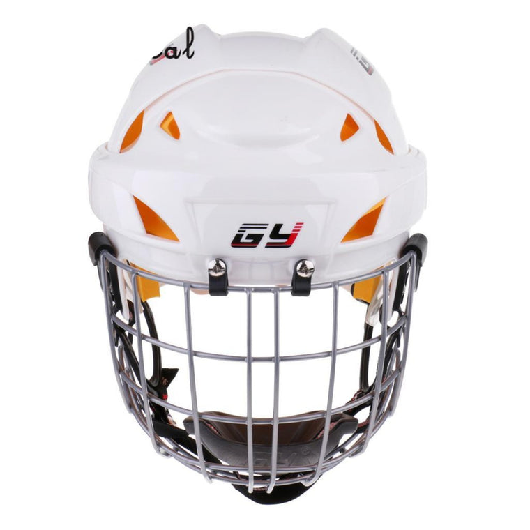MagiDeal Ice Hockey Helmet Soft EVA Liner with Cage for Player Hockey Face Shield XS/S/M/L/XL