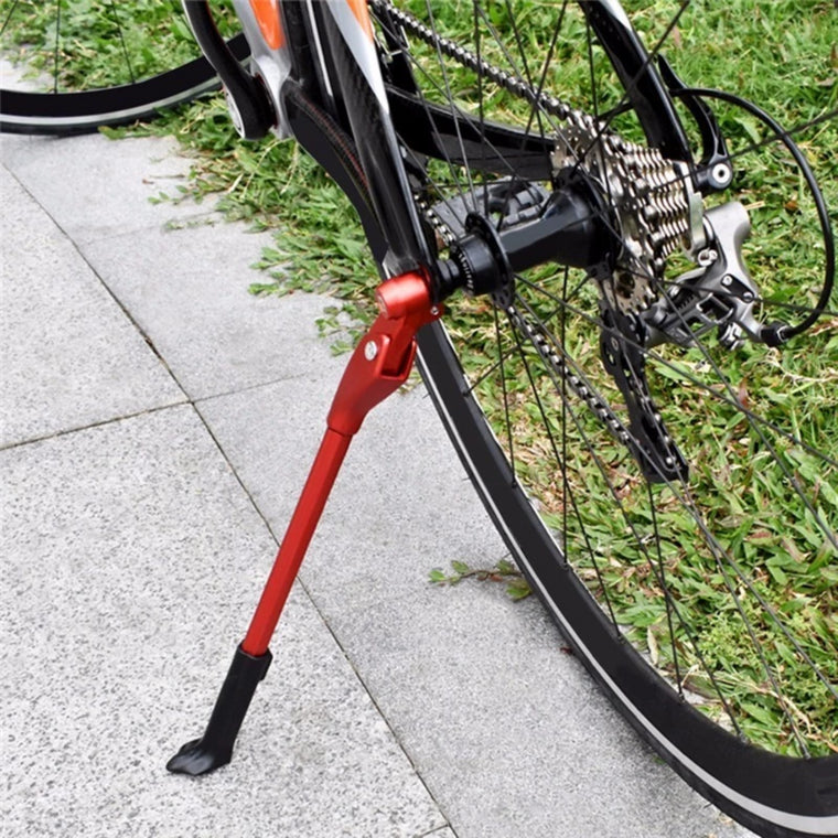 Adjustable Road Bicycle Kickstand Parking Rack Mountain Bike Support Side Kick Stand Universal Foot Brace Cycling Parts