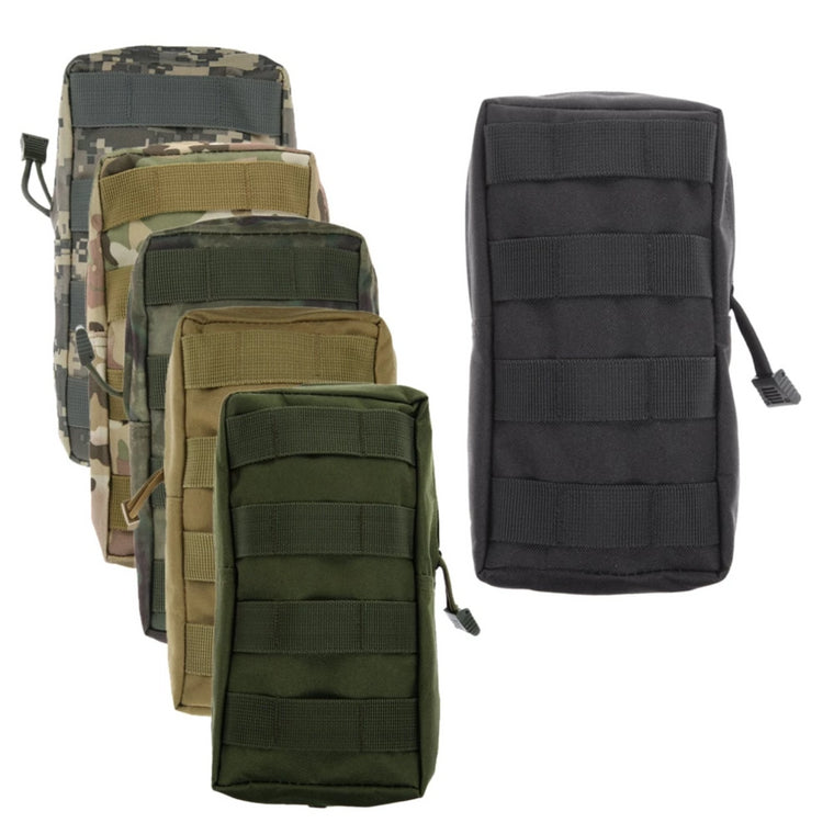 Sports Molle Pouch Military 600D Utility Tactical Vest Waist Airsoft Bag for Outdoor Hunting Pack Equipment Camo