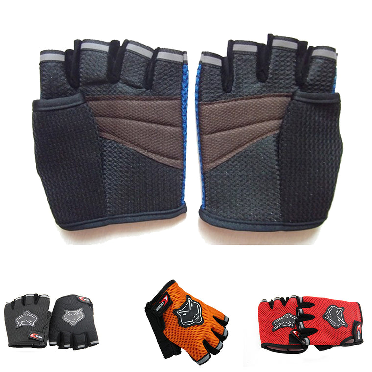 Sports Gym Gloves Men Fitness Training Exercise Anti Slip Weight Lifting Gloves Half Finger Body Workout Men Women Guantes