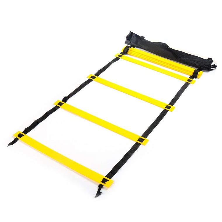 3/4/5/6m Agility Ladder for Soccer Football Speed Training Fitness Equipment ladders Speed Nylon Straps Agility With Carry Bag