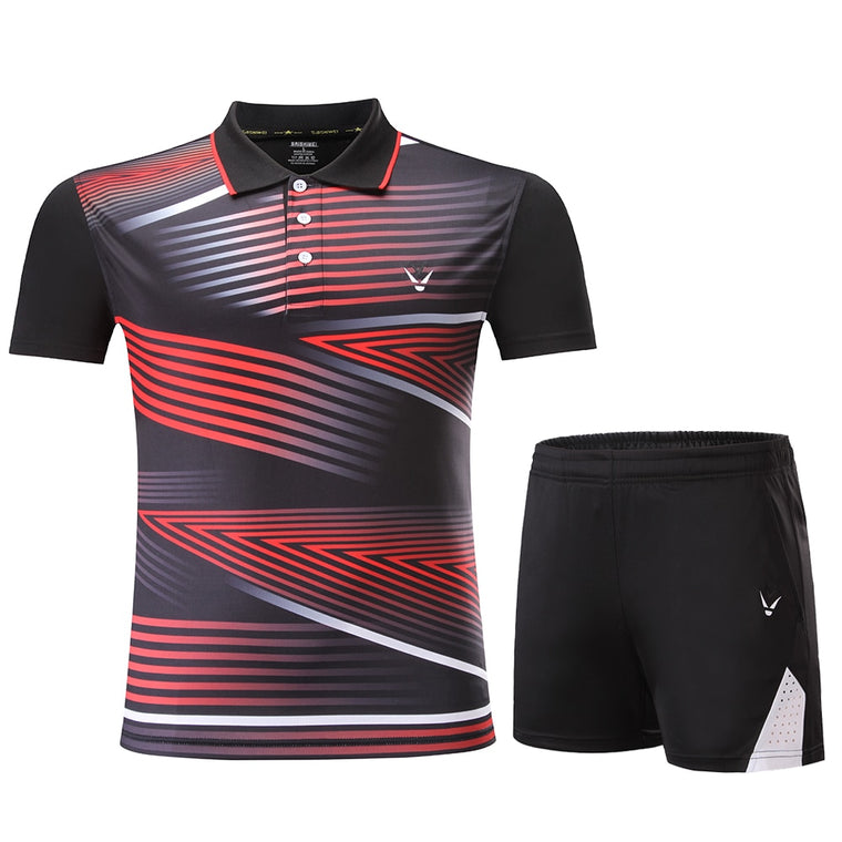 New Badminton sports clothes Women/Men,Tennis suit , table tennis clothes, Tennis set, Qucik dry badminton wear sets 3863