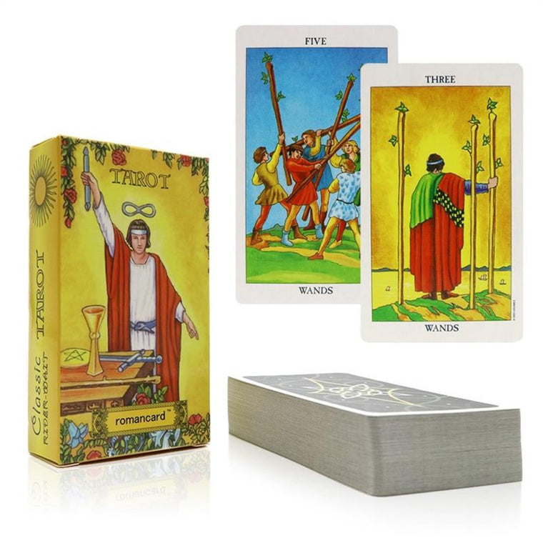 rider tarot cards with beautiful bag for divination personal use tarot deck full English version