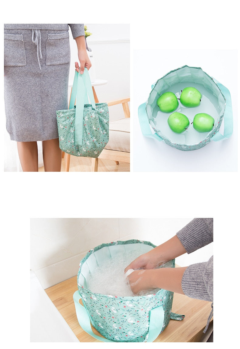 Mult Function Packing Organizers Foldable Travel Bag For Footbath Clothes Washing Fruits Washing Portable Travel Accessories 144