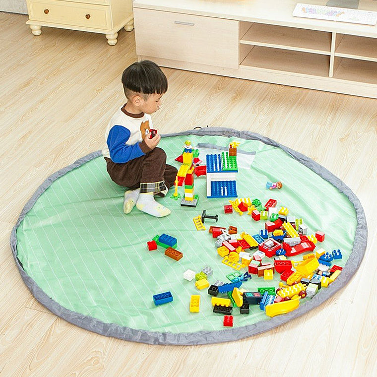 Yesello Oxford 150cm Super Size Baby Toys Quick Access Bag Travel Mat Toy Cushion Creative Waterproof Convenient Finishing Bag