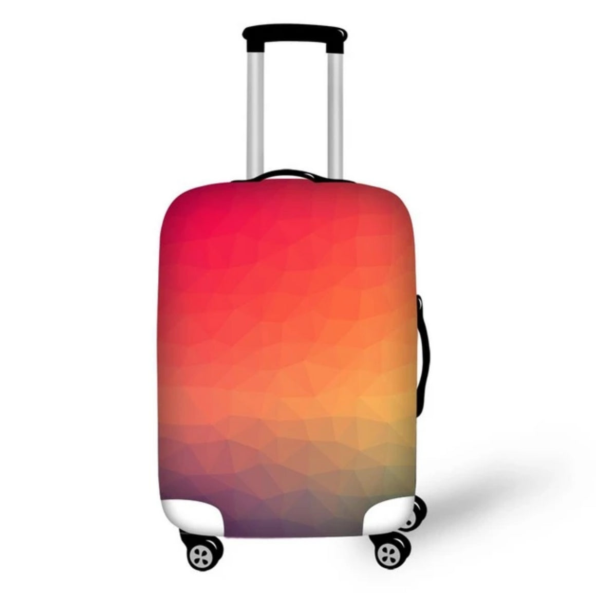 Cover For Suitcase Love Travel 3D Prints luggage Protective Covers Elastic Travel Accessories Trolley Case Cover With Zipper