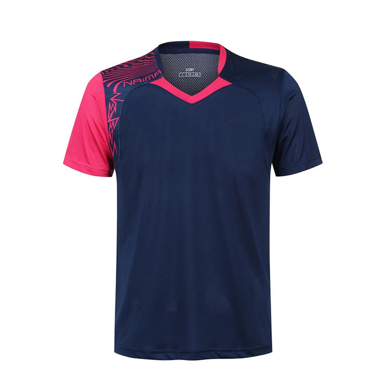 Free Printing Badminton shirt Men/Women , sports badminton t-shirt, Table Tennis shirts , Tennis wear dry-cool shirt 5062