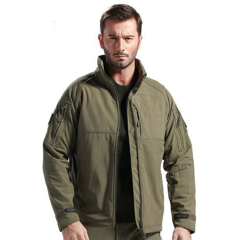 TAD V 4.0 Men Outdoor Hunting Camping Waterproof  Jacket Army  Outerwear Hoodie Army Green S,M,L,XL,XXL
