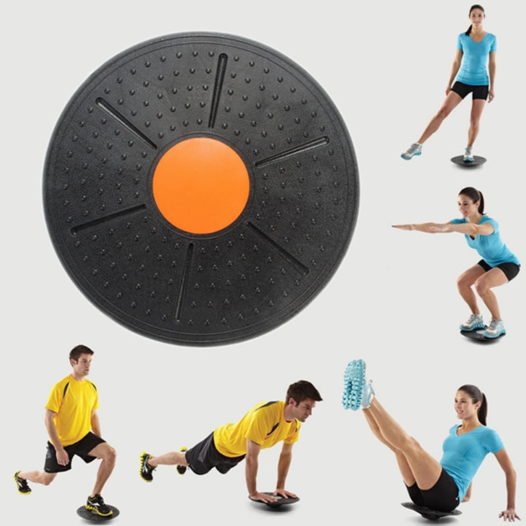 37cm universal Healthy Wobble Balance Board Stability Disc Yoga Sport Training Fitness Exercise Waist Wriggling Round plate Game