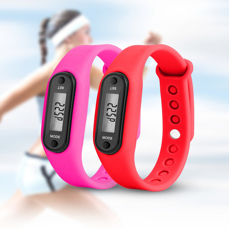 Long-life battery Multifunction Digital LCD Pedometer Run Step Calorie Walking Distance Counter High Quality