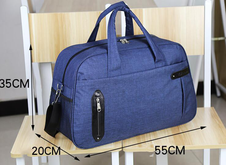 Oxford Waterproof Large Capacity Men Travel Bag Unisex Luggage Travel Handbags Packing Cubes 30%OFF T518