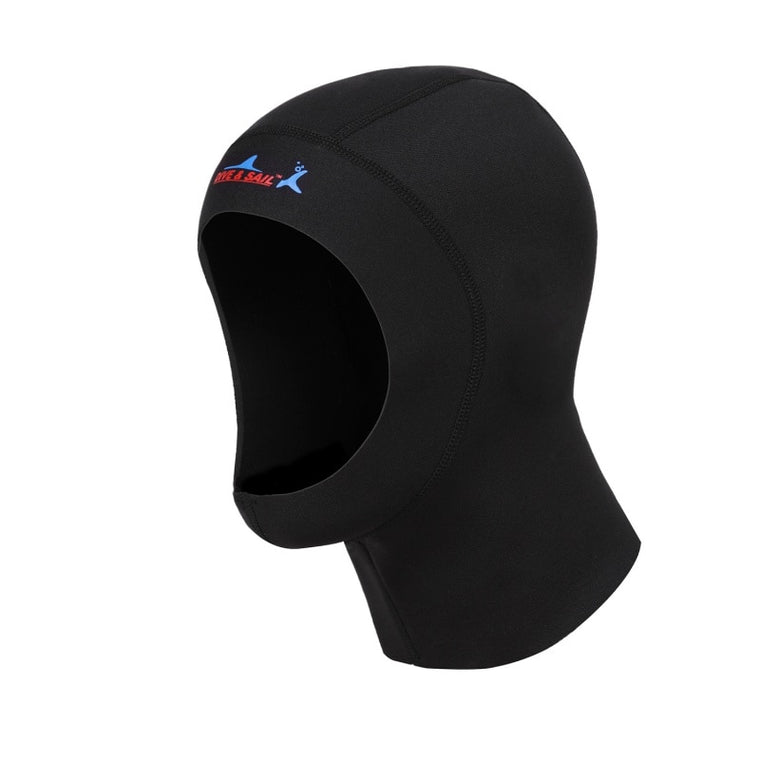 Scuba Diving Cap 1mm Neoprene Protect Hair Swimming Hat With Shoulder Snorkeling Equipment Hat Hood Neck Cover Swim Warm Wetsuit