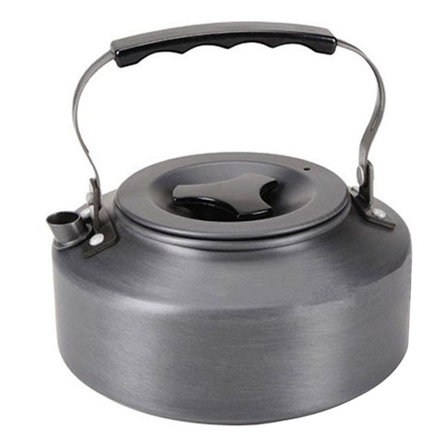 1.1L Kettle Picnic Camping Cookware Teapot Water Coffee Pot Aluminum Outdoor free shipping