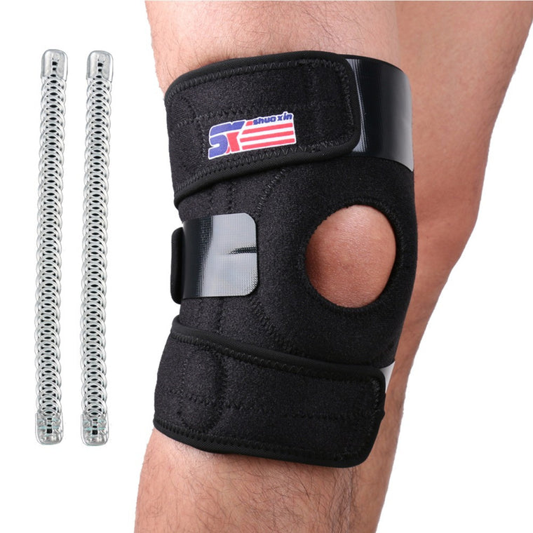 Motorcycle Knee Pads Bicycle Leg Armor Wraps Safety Support Brace Protector Gear