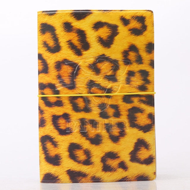 OKOKC 3D Leopard Passport Cover PVC Leather Credit Card Passport Holder Travel Ticket Pouch Packages Travel Accessories