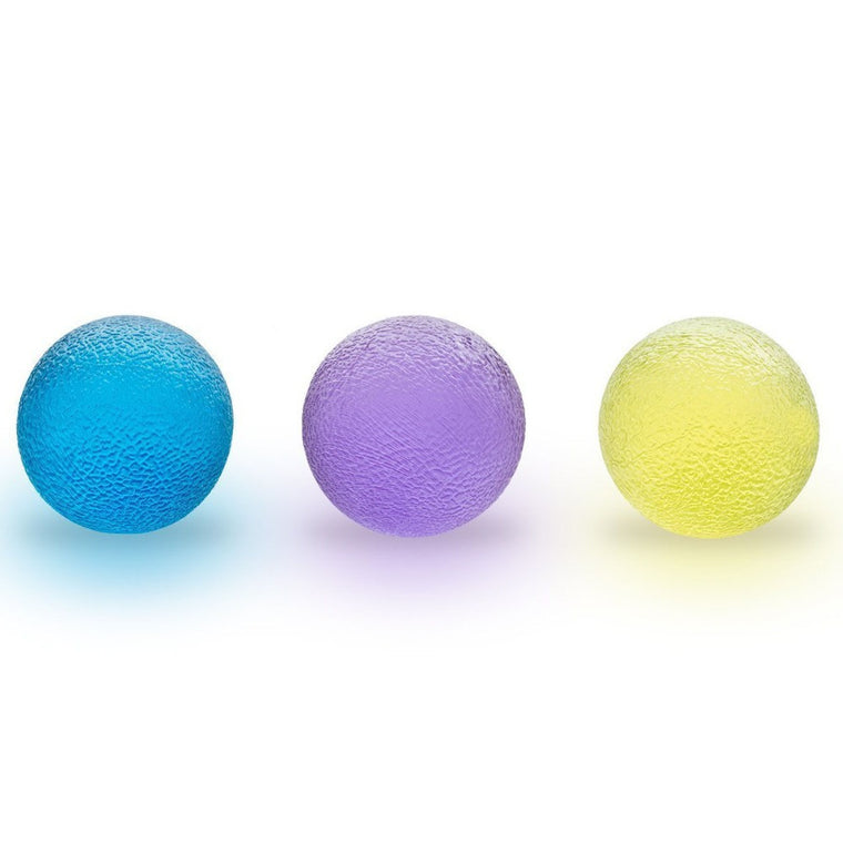 Fitness Hand Therapy Balls Exercises - Squeeze Ball - Home Exercise Kits - Hand Grips Hand Exercise Balls,Power Ball