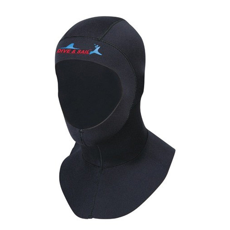 Brand 3mm Neoprene Scuba Diving Cap With Shoulder Snorkeling Equipment Hat Hood Neck Cover Winter Swim Warm Wetsuit Protect Hair