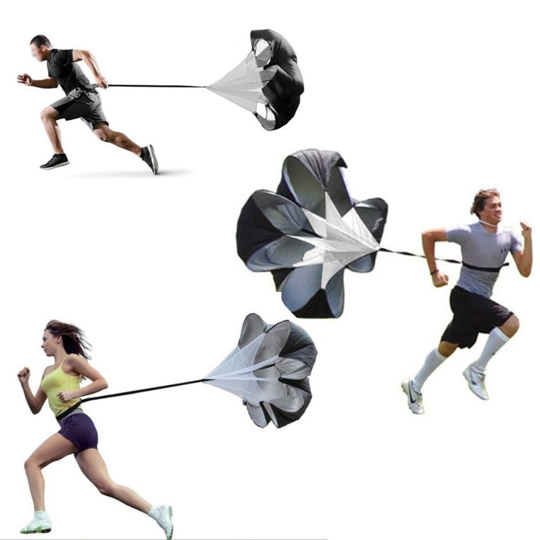 Adjustable Running Drag Resistance Parachute for Power Speed Running Speed Drag Chute Physical Training Equipment