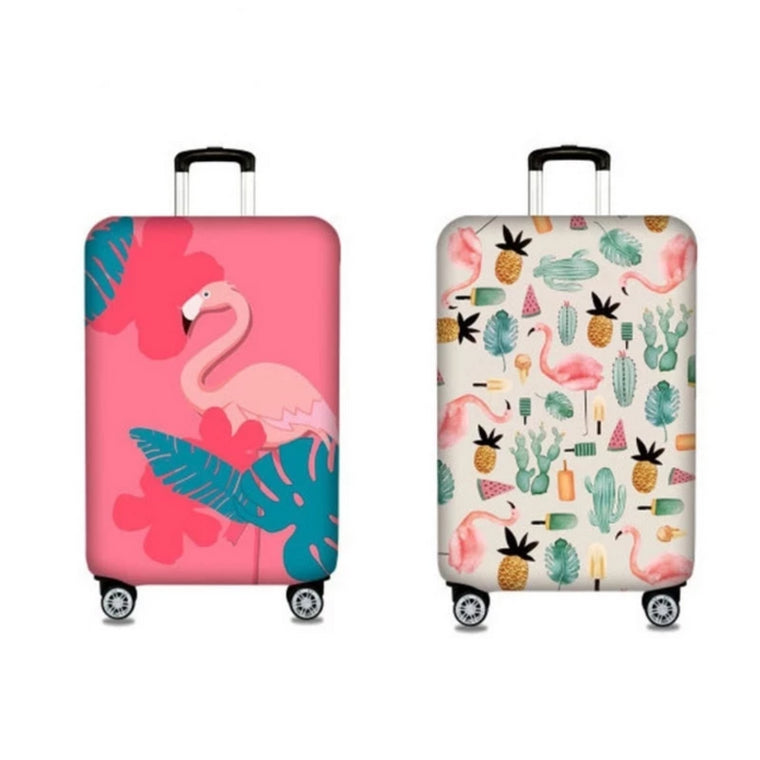 3D Fantasy Unicorn Print Luggage Protector Travel Luggage Cover Trolley Case Protective Cover Fits 18-32 Inch